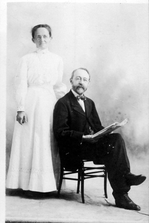 Lina and George Gould