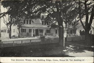 The Spinning Wheel Inn, Route 58, Tel. Redding 67 Redding Ridge, CT
